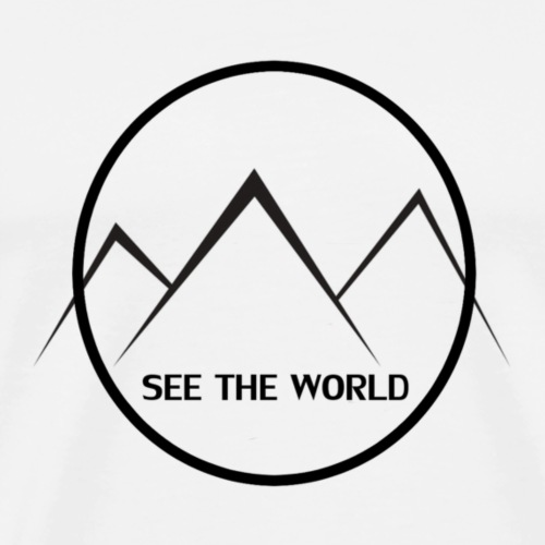 Lake The World - Men's Premium T-Shirt
