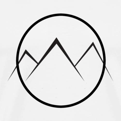 World of Mountains - Men's Premium T-Shirt