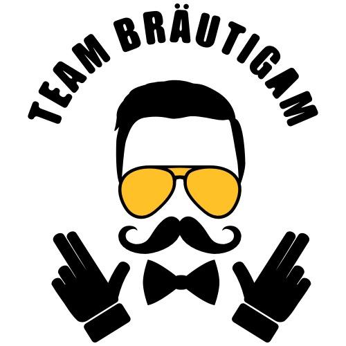 Team Bräutigam - JGA T-Shirt - Bachelor Shirt - Männer Premium T-Shirt