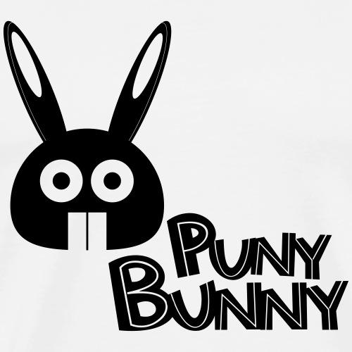 Puny Bunny text - Miesten premium t-paita