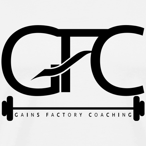 GAINS FACTORY COACHING - Männer Premium T-Shirt