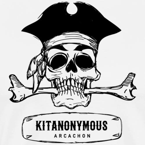 KITANONYMOUS ARCACHON logo - T-shirt Premium Homme