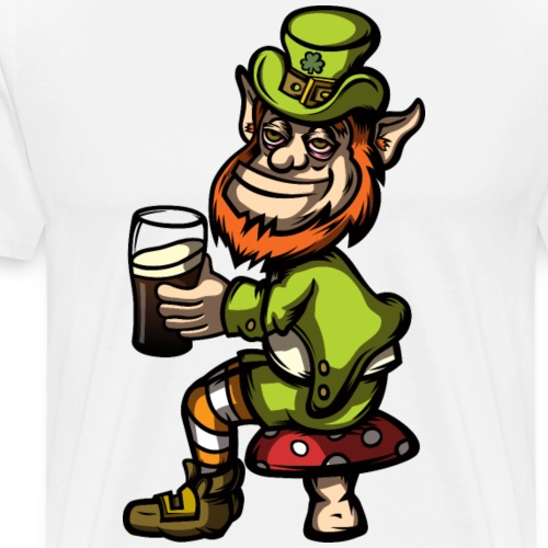 Drunk Leprechaun - Men's Premium T-Shirt