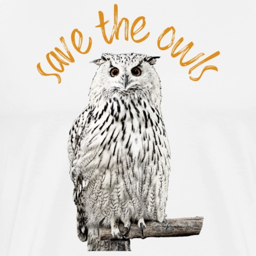 Schneeeule Eule Save the Owls Foto Kunst