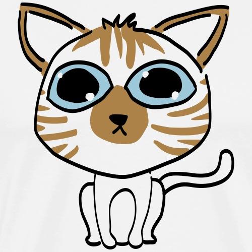 Milo le chat - T-shirt Premium Homme