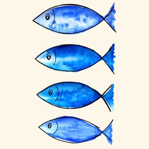poissons de mer - T-shirt Premium Homme