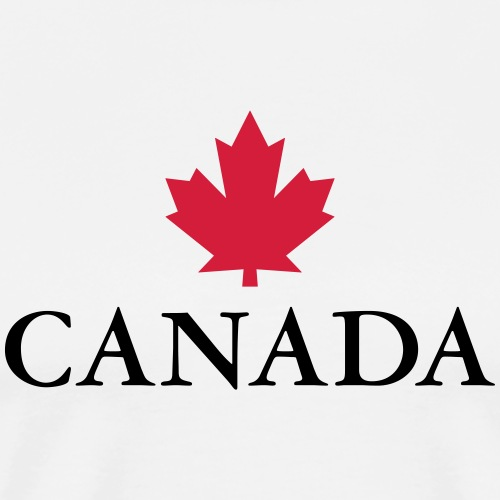 Canada Ottawa Ahorn Maple Leaf Kanada Amerika - Men's Premium T-Shirt
