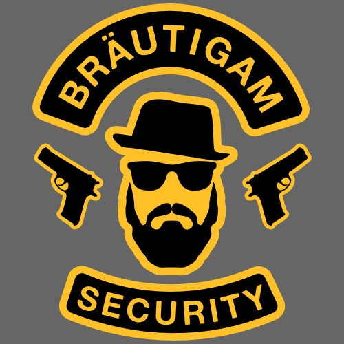Bräutigam Security - JGA T-Shirt - Bräutigam Shirt - Männer Premium T-Shirt