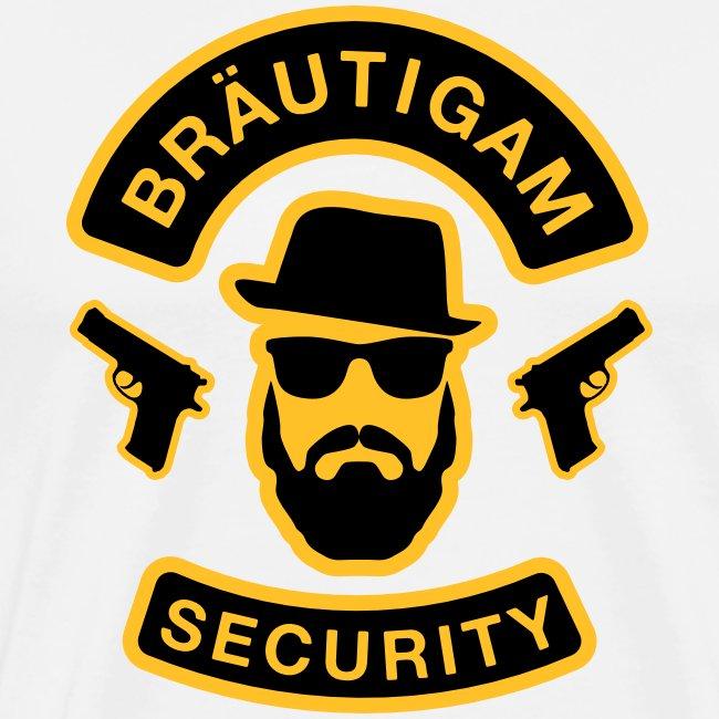 Bräutigam Security - JGA T-Shirt - Bräutigam Shirt