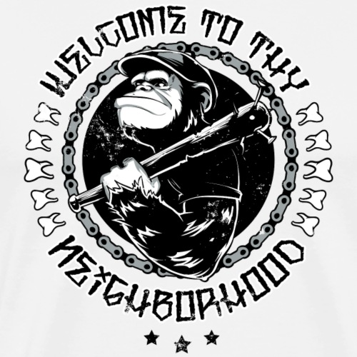 Welcome to the Neighborhood - Männer Premium T-Shirt