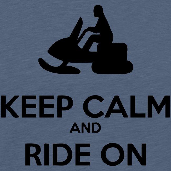 Keep Calm Sled