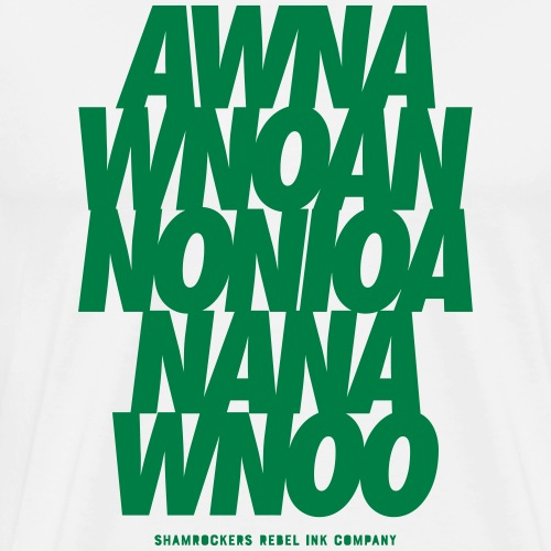 AwNaw - Men's Premium T-Shirt