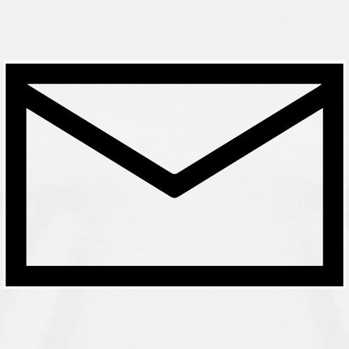 Envelop - Mannen Premium T-shirt