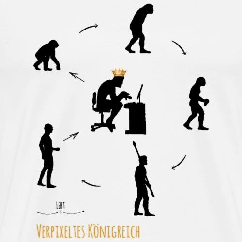 verpixeltes Königreich - Männer Premium T-Shirt