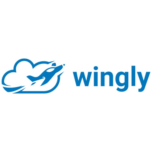 Wingly logo - Men's Premium T-Shirt