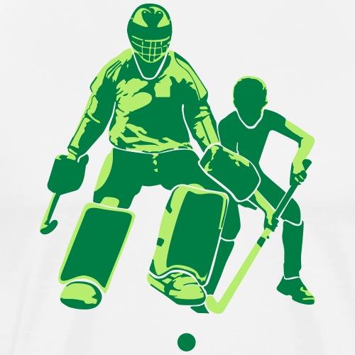 Doelman Veldhockey - Mannen Premium T-shirt