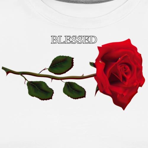 Quotees UF - Rose Blessed - Premium-T-shirt herr