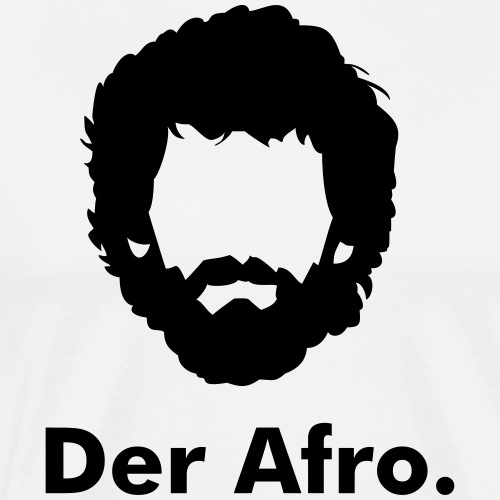 Der Afro - Men's Premium T-Shirt
