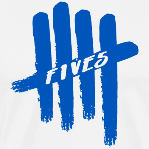 fives blue - T-shirt Premium Homme