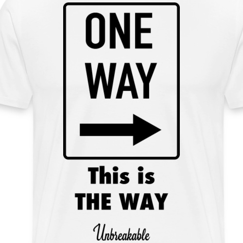The Way - T-shirt Premium Homme