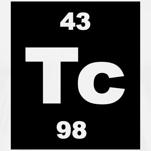 Technetium (Tc) (element 43) - Men's Premium T-Shirt