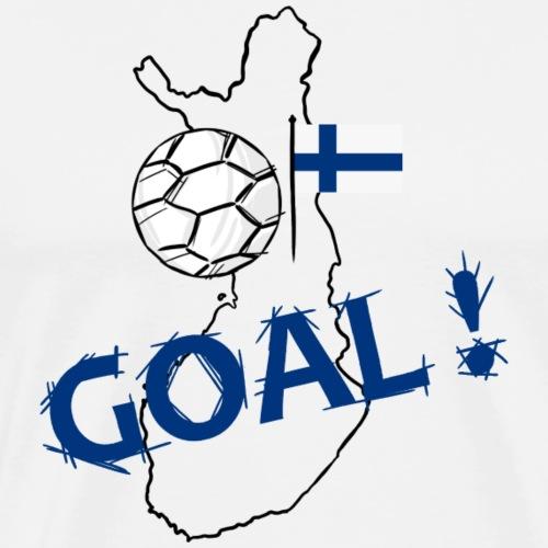 voetbal Finland - T-shirt Premium Homme