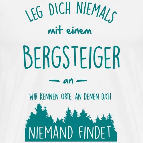 Bergsteiger - Anlegen - Männer Premium T-Shirt