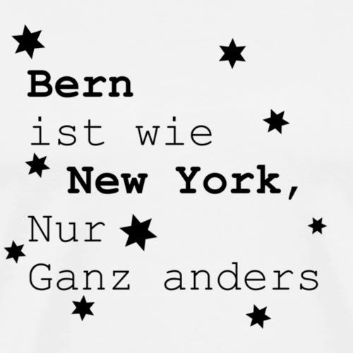 Bern Schweiz Heimatliebe Lieblingsstadt - Männer Premium T-Shirt
