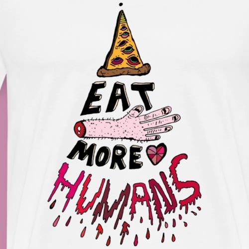 Eat more Humans - Männer Premium T-Shirt