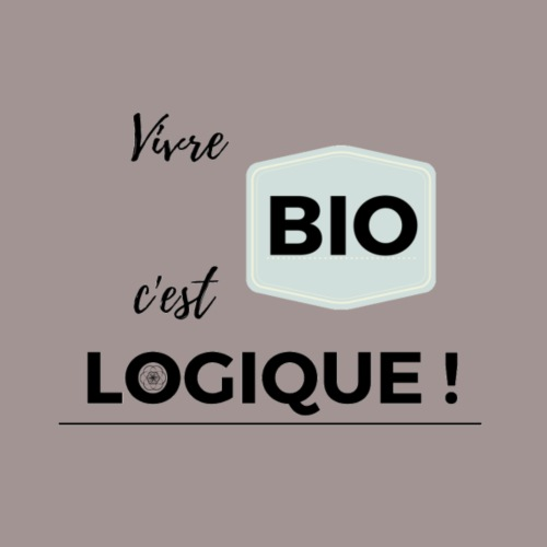 Vivre BIO c'est LOGIQUE - T-shirt Premium Homme