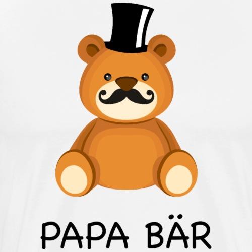 Papa Bär - Männer Premium T-Shirt