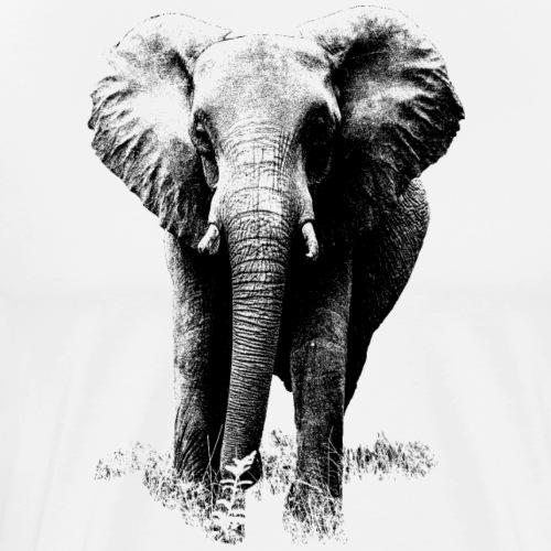 Afrikanischer Elefant - Männer Premium T-Shirt