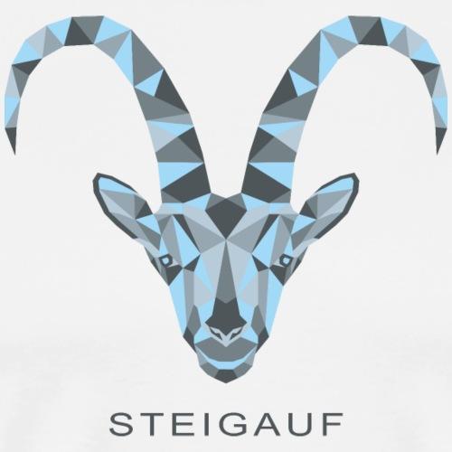 Steigauf Steinbock C1 - Männer Premium T-Shirt