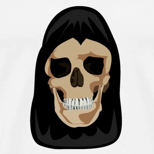 Totenkopf im Cape - Männer Premium T-Shirt