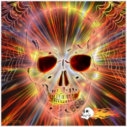 FFStore skull - Mannen Premium T-shirt