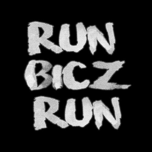run bicz black - Koszulka męska Premium