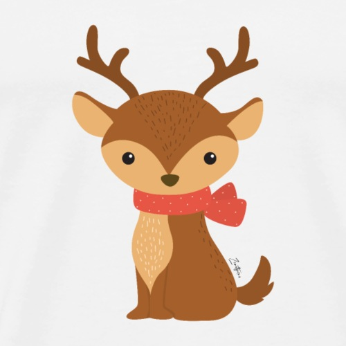 The Deer - Maglietta Premium da uomo