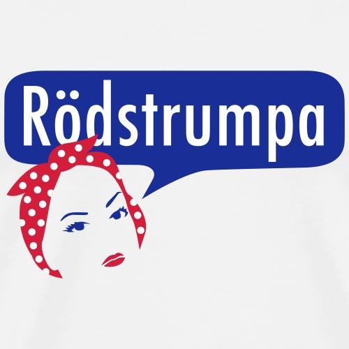 RÖDSTRUMPA 1 - Premium-T-shirt herr