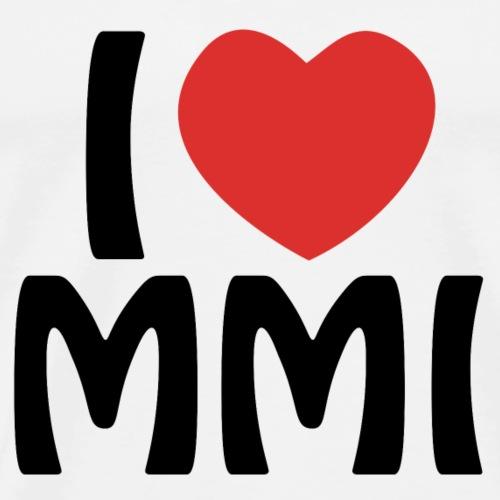 I love MMI - T-shirt Premium Homme