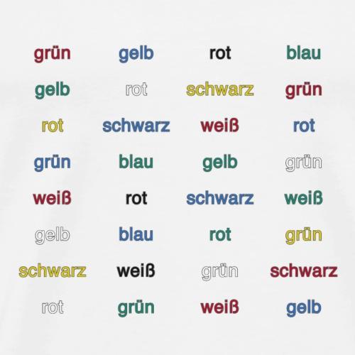 Stroop Effekt deutsch