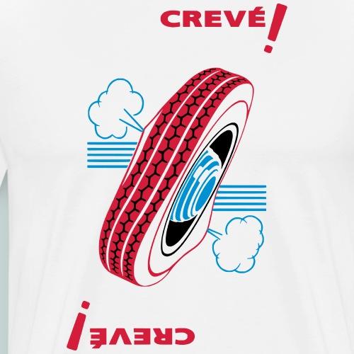 Crevé ! - T-shirt Premium Homme