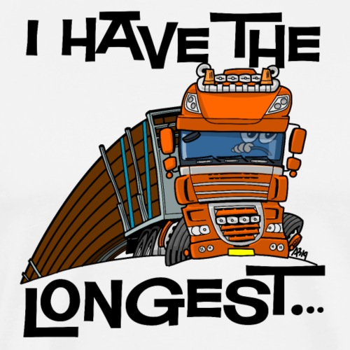 0793 D Truck longest loads VOOR - Mannen Premium T-shirt