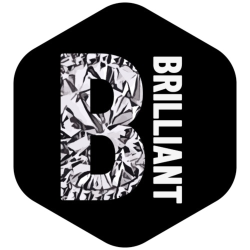 B brilliant black - Mannen Premium T-shirt