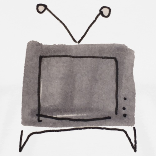 tv schauen - Männer Premium T-Shirt