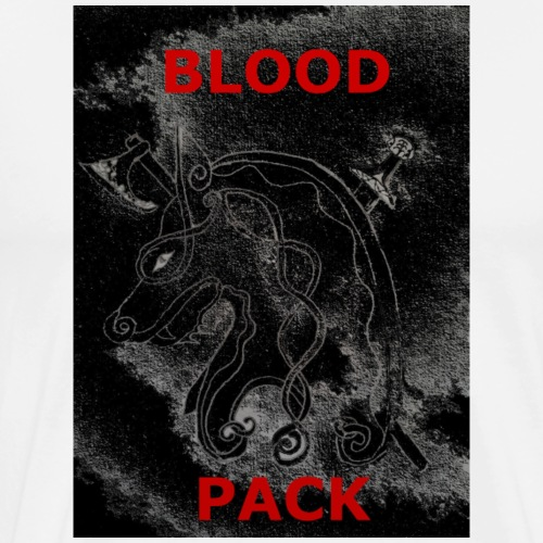 Blood Pack Alternate Logo - Men's Premium T-Shirt