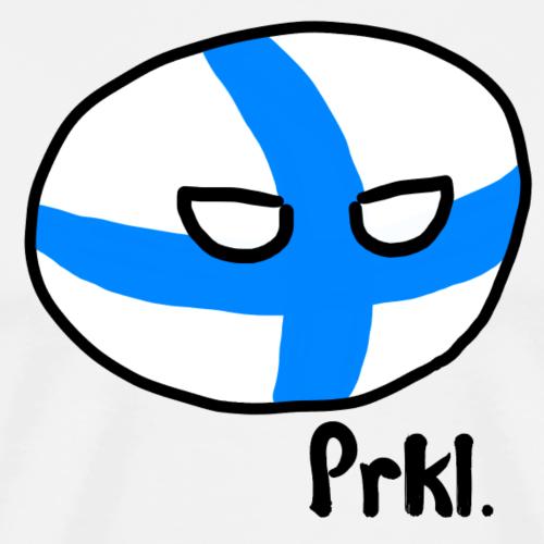 Suomipallo - Miesten premium t-paita