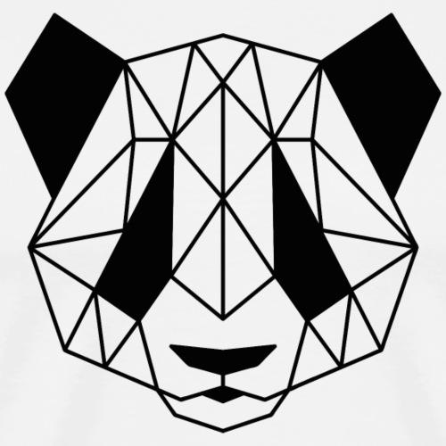 Geometric Panda - Men's Premium T-Shirt