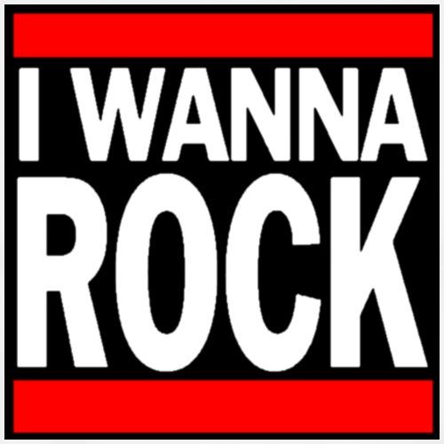 I wanna ROCK - Männer Premium T-Shirt