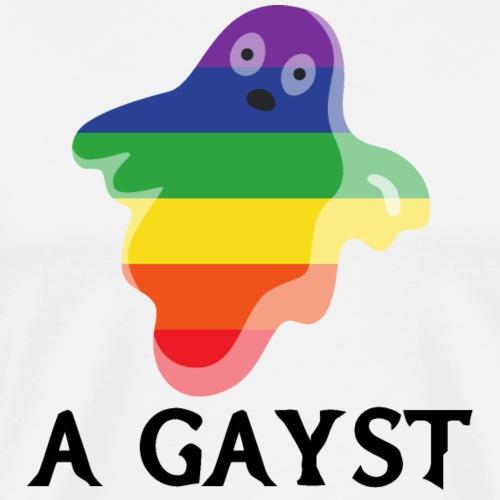 Gayst | Halloween | LGBT | Geist - Männer Premium T-Shirt