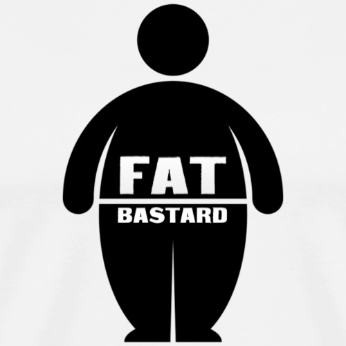 Fat Bastards: Version 1 - Men's Premium T-Shirt